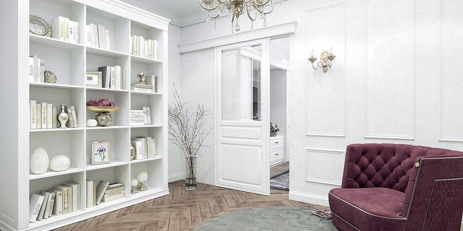 Двухсторонние двери Аристо коллекции Вен
