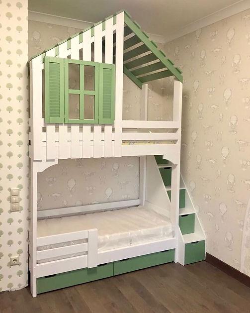 кровать домик мытищи