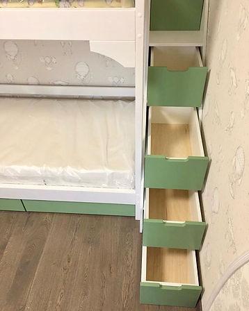 кровать домик королев