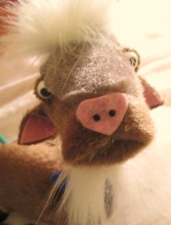 Mr Billy Goat Gruff (the third!)