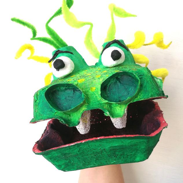 Egg Box Monster