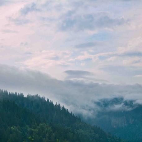 עננים וערפל