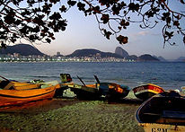 Les Sales Caractères Plag de Copacabana à Rio