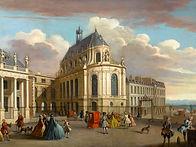 Les Sales Caractères Chapelle du Châteaude Versailles attribué à Jacques Rigaud, 1725