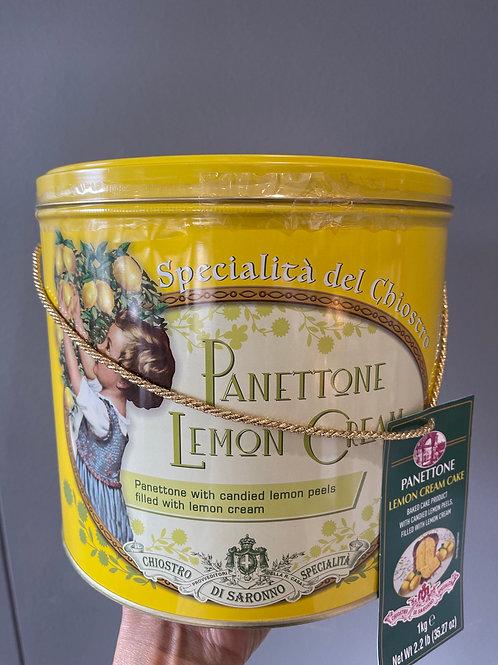 Panettone Lemon Cream Cake