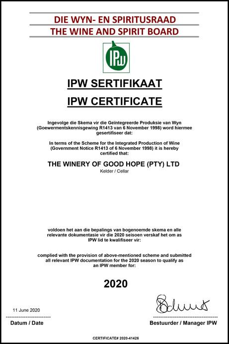 IPW 2020