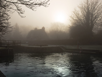 Cold water swimming: the logical choice
