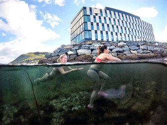 All year swimming in North Norway