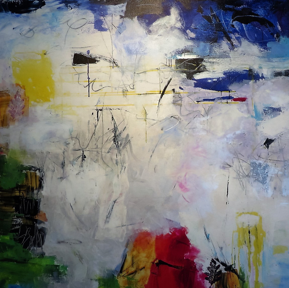 """""""Paradoxes"""" 48x48 by Gisela Miller"""