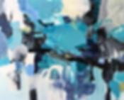 High Tide, 60x48 acrylic on canvas, Joli