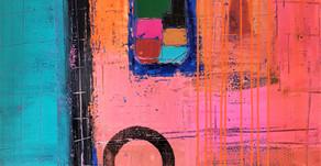 Modern Abstract By Artist Fidel Aguiar