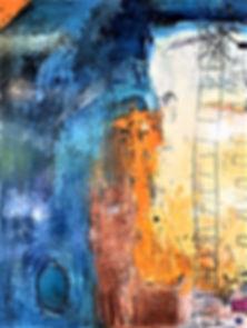 Don't Walk Away, 36x48 acrylic on canvas