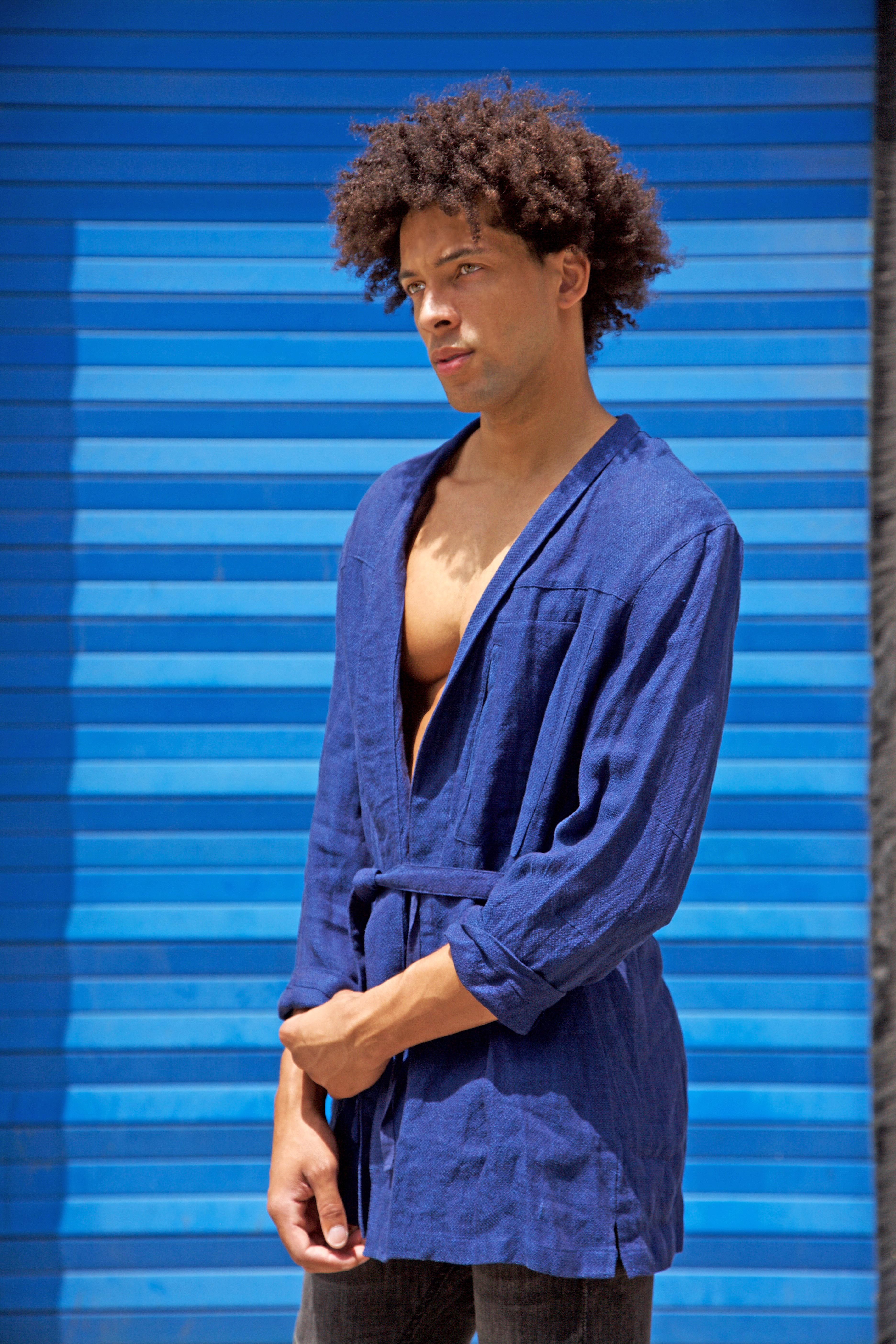 Imani McEwan blue by Stefan Mreczko