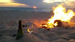 Beach Fire & Wine