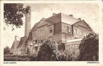 Ansichtkaart Kareol Aerdenhout landhuis Wagner 1