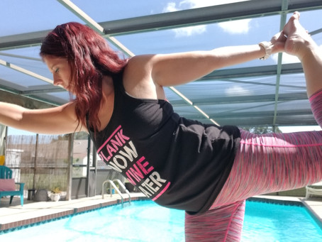 Poolside Yoga-Yoga Your Way at Your Pool!