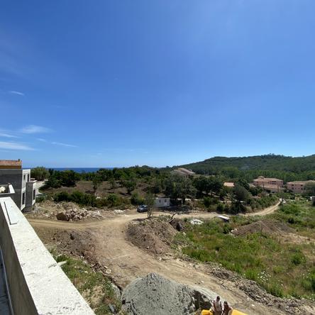vue premier étage villa n°2
