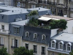 Immobilier parisien : quel est le prix d'une terrasse ?