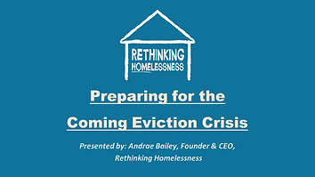 Eviction Crisis Webinar August 11th 2020