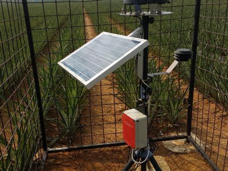 Automatic Weather Station Mertani Pemantau Kondisi Iklim Mikro Lapangan