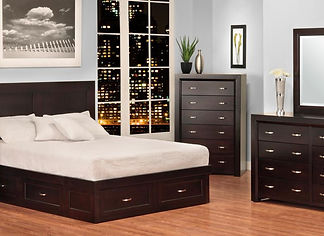 Contempo Bedroom Handstone