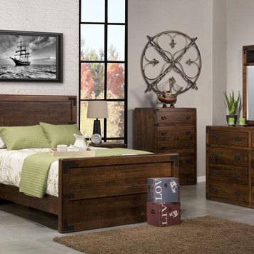 Create Your Own Getaway With A Canadian Made Bedroom Set by Handstone