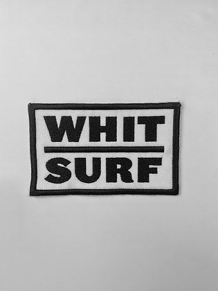 Whit Surf Logo Patch