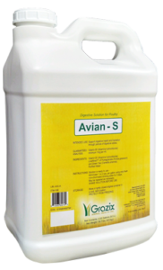 "Grazix Animal Health, Inc. ""Avian–S"" Natural Supplement For Poultry."