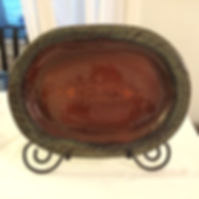 Photo of pottery platter