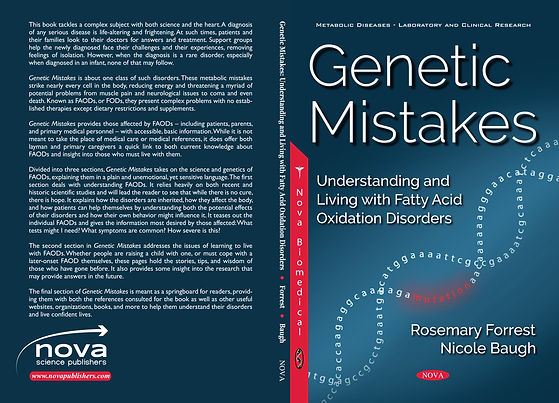 The front cover of a book: Genetic Mistakes