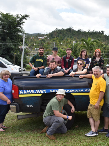 Ken Harmon and team helping with Disaster Relief in Puerto Rico