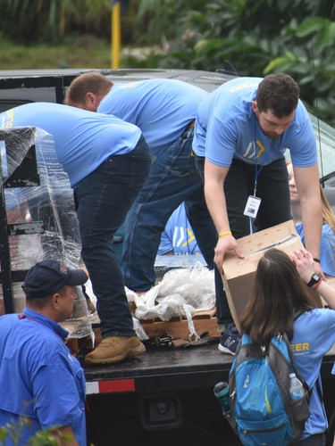 Providing the supplies needed Disaster Relief in Puerto Rico
