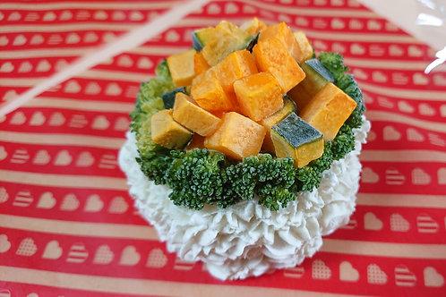 【お祝いごはんケーキ】馬肉ベース