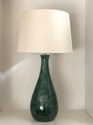 Long Neck Peacock Glaze