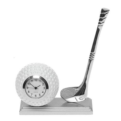 Golf Theme Desktop Clock (15cm)