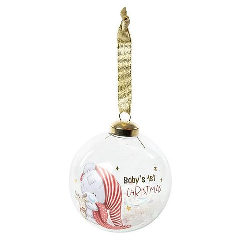Baby's first Christmas bauble