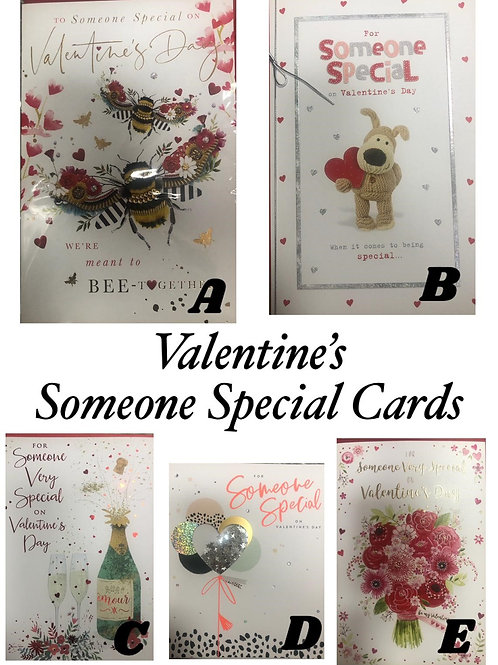 Valentine Card - SOMEONE SPECIAL