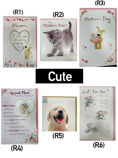 Mother's Day Cards -CUTE