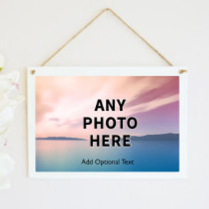 Hanging Photo on Frame (email us your photo)