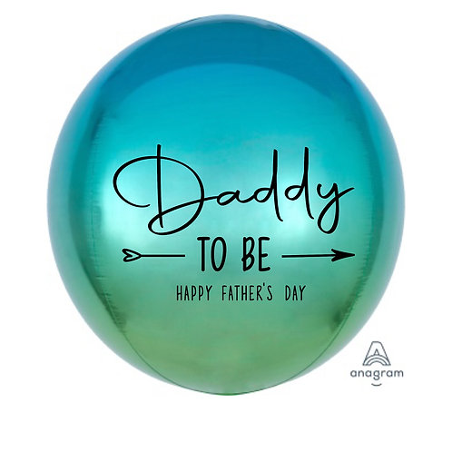 Happy Father's Day ORBZ Balloon (Daddy to be)