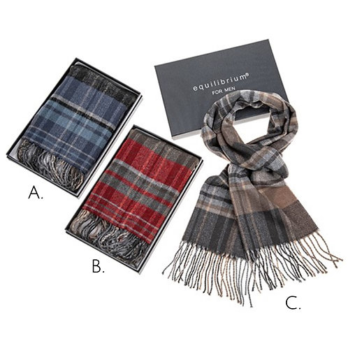Mens Soft Scarf - in gift box