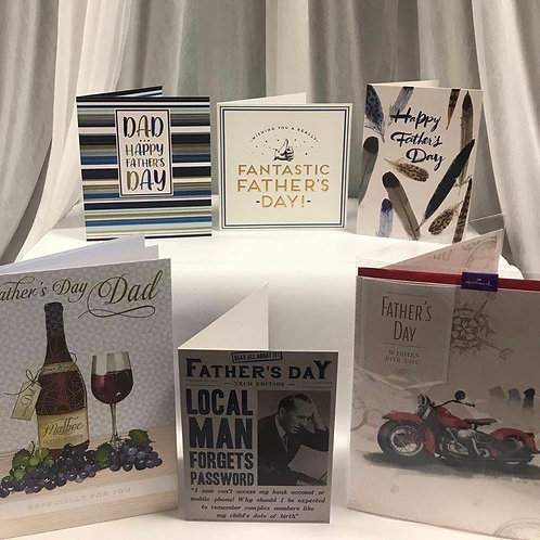 Father's Day Cards - Dad (Mix 4)