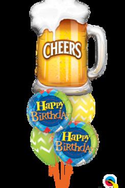 Cheer Beer Bouquet (5 balloon)