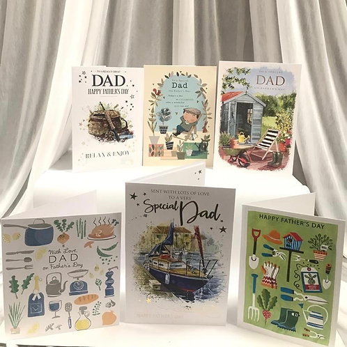 Father's Day Cards - Dad (Mix 5)