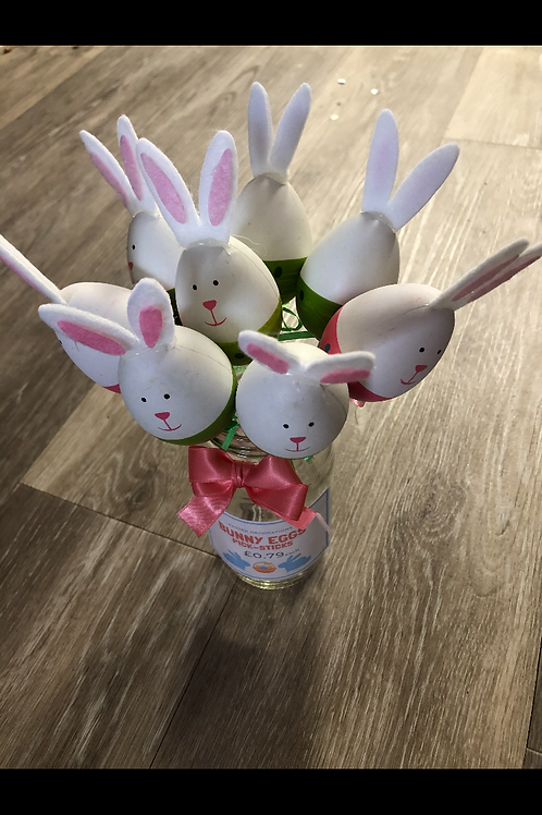 Cute bunny sticks (sold separately)