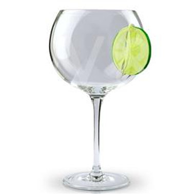lime gin glass