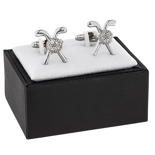 Golf Club & Ball Cufflink