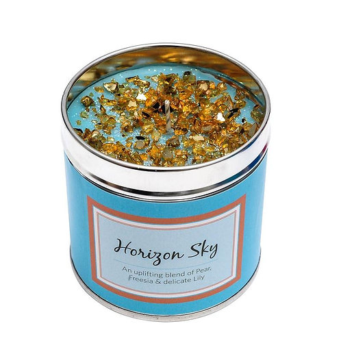 Luxury tinned candle- horizon sky