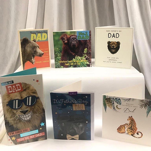 Father's Day Cards - Dad (animal)