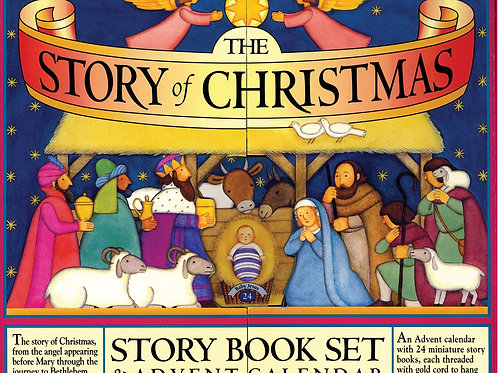 Christmas book and advent calendar